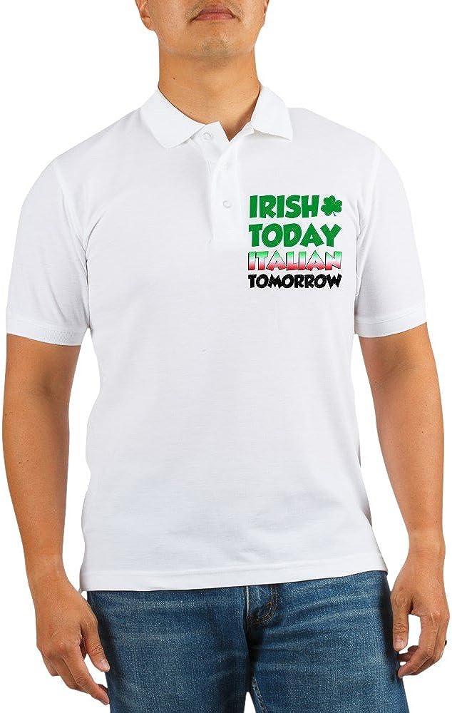 CafePress Irish 2021 Today Italian Golf Polo service Tomorrow