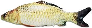 Mochiglory Simulation Fish Stuffed Animal Cushion Throw Pillow Fish Plush Toy Doll Birthday Gift 7.8in