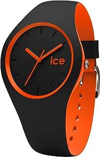 Ice-Watch - ICE duo Black Orange - Boy's wristwatch with silicon strap - 001528 (Small)
