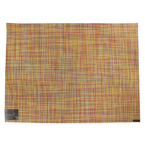 Chilewich Placemat Mini Basketweave Rectangle - Confetti