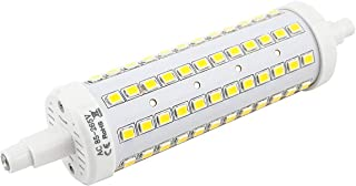 Bonlux 2-Pack 10W R7S J118 Dimmable Double Ended J Type LED Light Bulb R7S LED Floodlight 100W Halogen Replacement Lamp (Daylight 6000K)