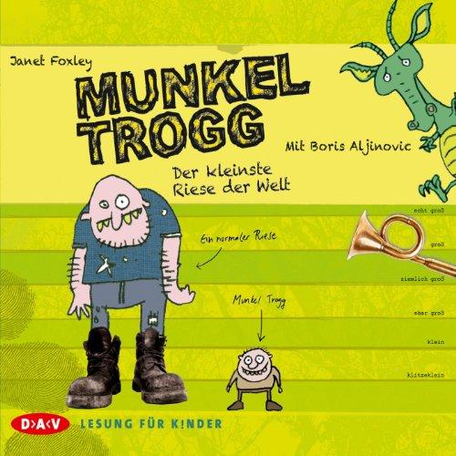 Der kleinste Riese der Welt (Munkel Trogg 1) audiobook cover art