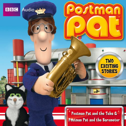 Postman Pat and the Tuba & Postman Pat and the Barometer audiobook cover art