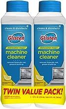 Summit Brands DM03N-SS Glisten Dishwasher Magic Machine Cleaner and Disinfectant, 12 Fl Oz Bottle, 2-Pack