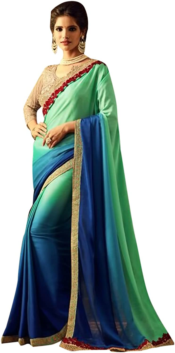 New Launch Bridal Saree Sari Collection Blouse Wedding Party Wear Ceremony Women Muslim eid 591