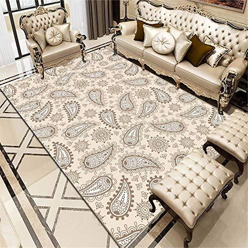 La alfombras recibidor Pasillo Entrada Alfombra geométrica Duradera Suave marrón Blanco Amarillo alfombras Infantiles Lavables decorqcion Dormitorio 60*160CM