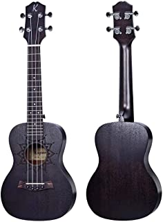 Kaysen Ukulele Black Color With 3 Months Warranty - U1 24