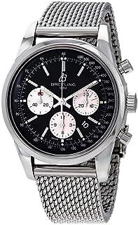 Breitling - Transocean cronógrafo 43mm reloj para hombre AB015212/BF26-154A