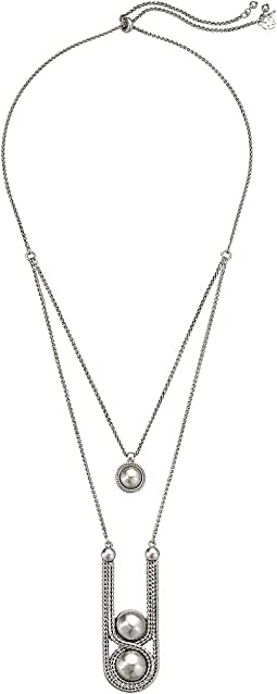 Chain Bead Layer Necklace