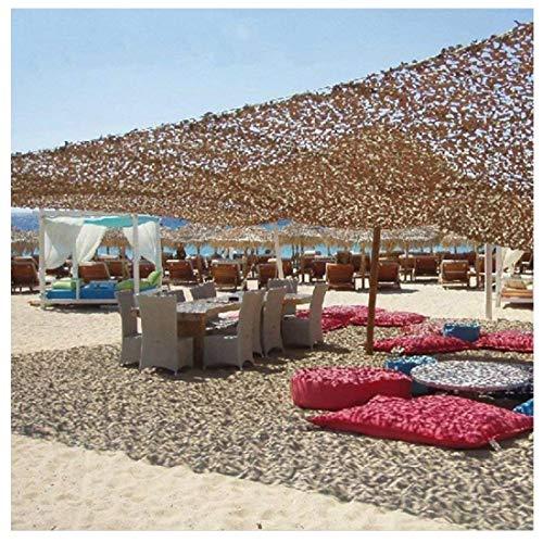 AnnWZW Desert Camouflage Netting Schatten Sun Netting Sonnenschutz Mesh Sonnenschutz Net, 2x3m Markisen Oxford Stoff für Kinder Camping Military Army Hide Fotografie Jagd...