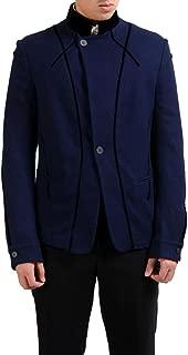 Men's 100% Wool Blue Blazer Sport Coat