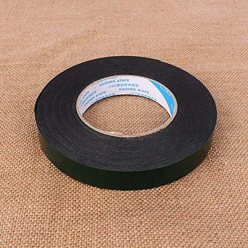 Cinta de espuma adhesiva doble, cinta adhesiva de doble cara de espuma de PE autoadhesiva, superfuerte impermeable 10 m de doble cara en interiores para el hogar