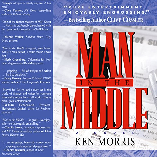 Man in the Middle audiobook cover art