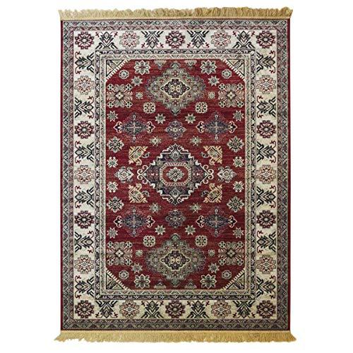 WEBTAPPETI.IT Alfombra oriental Vintage Económica Rubine 315 - Rojo, 200 x 290 cm
