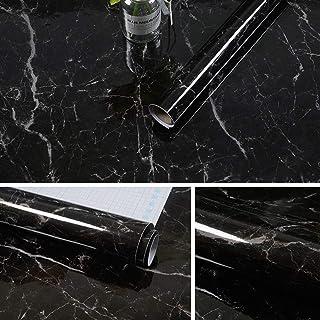 Yizunnu 60x500cm Rollo de papel de contacto autoadhesivo de
