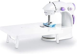 Varmax ミシン電動ミシン 初心者おすすめ 補助テーブル付き 簡単操作 コンパクト