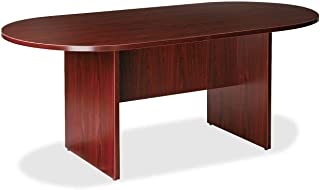 Lorell Oval Conference Table, Top and Base, 72