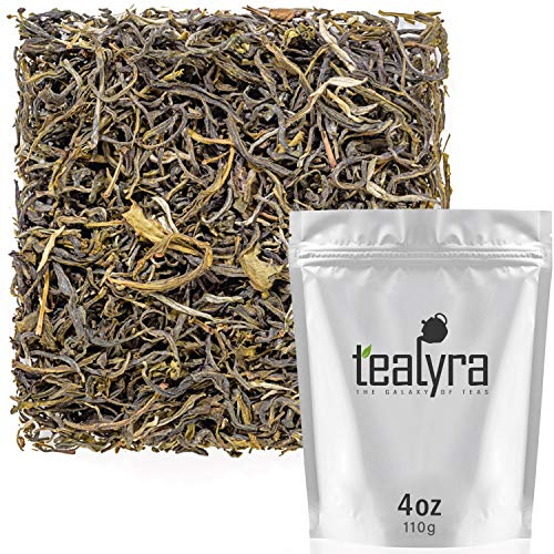 Tealyra - Supreme Mao Feng - Fujian Green Loose tea - Best Chinese Green Leaf Tea - Organically Grown - Antioxidant Rich - Caffeine Medium - 110g (4-ounce)