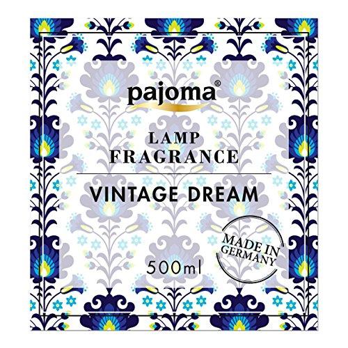 pajoma Nachfüllflasche für katalytische Duftlampe, Vintage Dream, 1er Pack (1 x 500ml)