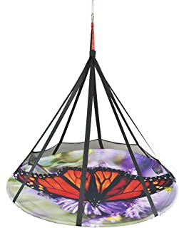 Flower House Blooming Lounge Hanging Hammock. Indoor/Outdoor (Butterfly Chair)