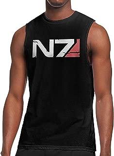 Mass Effect N7 Armour Logo Men T-Shirt