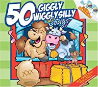 50 Giggly Wiggly Silly Songs 2 CD Set by Twin Sisters Productions