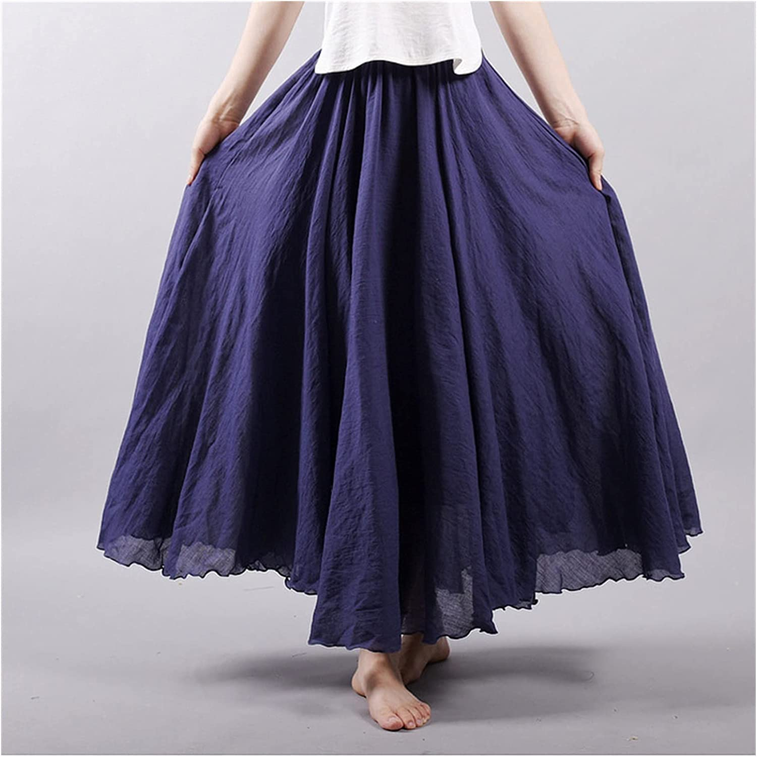 Uongfi Challenge the lowest price Wedding Dresses for Bride Skirts Long Women Linen Max 87% OFF Cotton