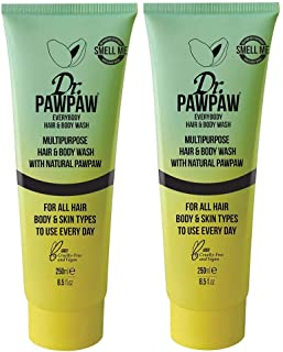 Dr. PAWPAW Everybody Hair And Body Wash, Signature Scent Of Mango & Coconut, Duo Pack, 2 x 250ml