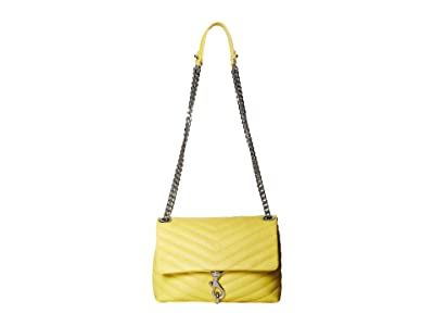 Rebecca Minkoff Edie Crossbody (Capr Yellow) Cross Body Handbags