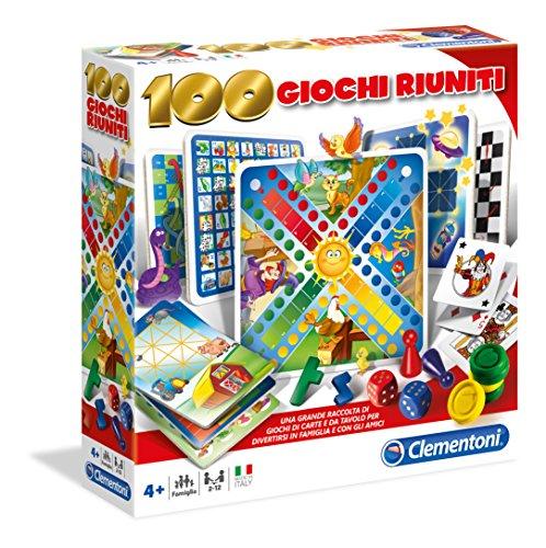 Clementoni 12952 100 jeux reunion