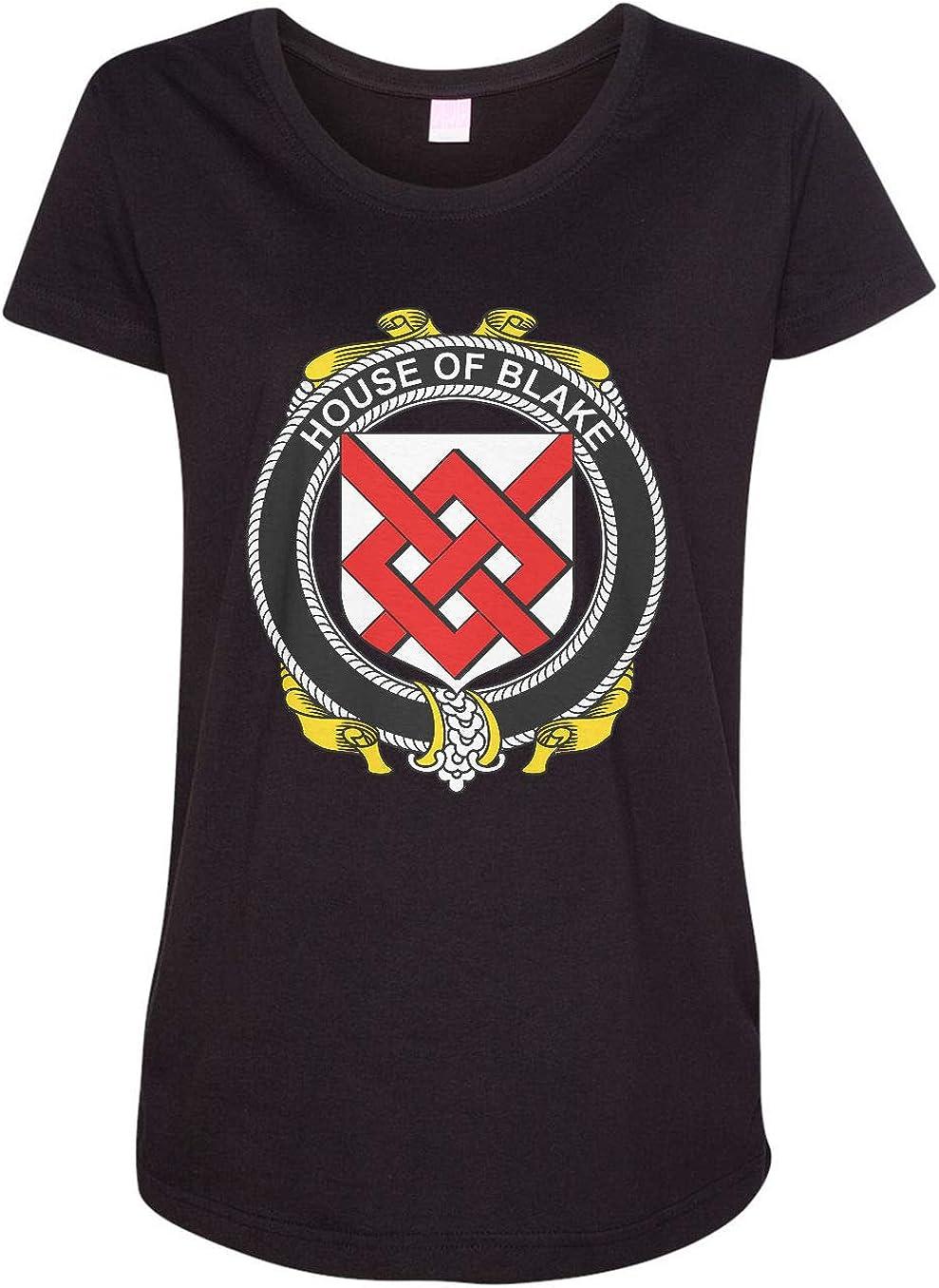 HARD EDGE DESIGN Women's Irish House Heraldry Blake T-Shirt