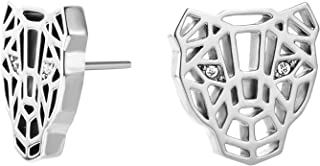 JUST CAVALLI Earrings, Linea Icona, Silver Color-JCER00700100
