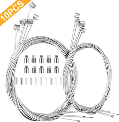 2Pcs Mountain Bike Bicycle Shifter Brake Cable Front Rear Derailleur Wire Line H