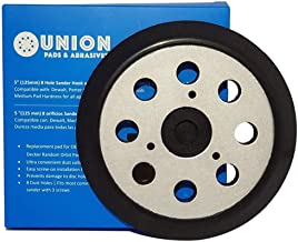 Union Pads & Abrasives OEM1 5 Inch 8 Hole Replacement Sander Hook and Loop Orbital..