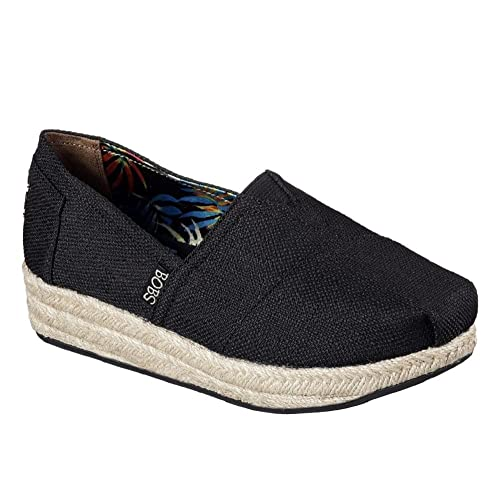 BOBS from Skechers Womens Highlights Flexpadrille Wedge