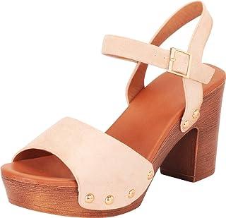 5beb1dc082e20 Amazon.com: clogs heels - Sandals / Shoes: Clothing, Shoes & Jewelry