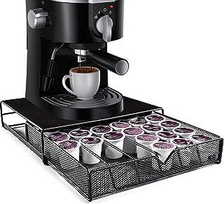 Tiroir de rangement pour capsules nespresso 36 cellules, Distributeur tiroir de capsule dolce gusto, Accessoires pour mach...