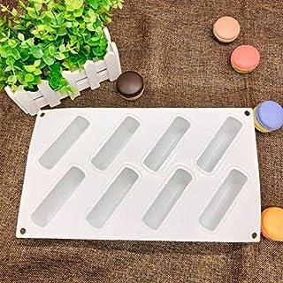 أدوات الخبز والمعجنات - قالب من السيليكون الساخن Sale8 تجويف موس المعجنات تزيين الكيك ثلاثي الأبعاد للحلوى قوالب خبز