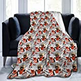 Oregon State University Flannel Blanket Super Soft Cozy Luxury Couch Home Decor Warm Anti-Pilling Fleece Throw Blanket for Couch Bed Sofa 60'X50'