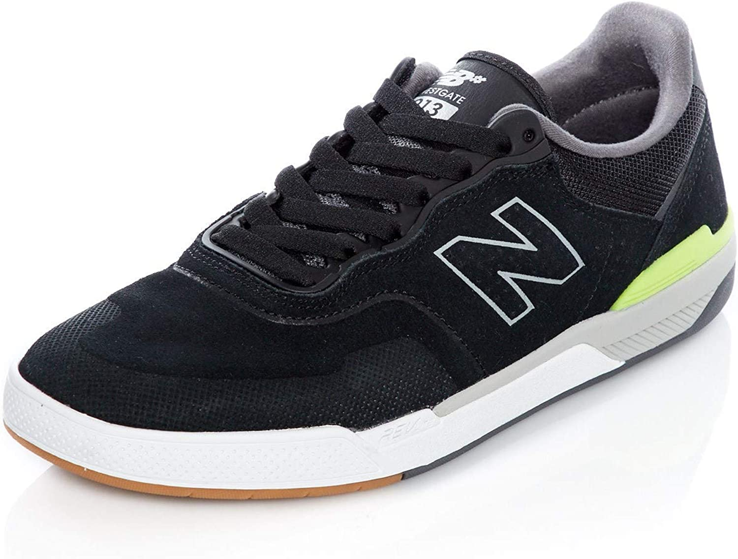 New Balance Numeric Black-Hi Lite 913 shoes