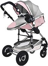 Stone Home Sillas de Paseo Cochecito de bebé 3 en 1 portátil de Viaje bebé Bastidor del Carro Plegable de Aluminio de Alta cochecitos de niño del Coche del Paisaje for el bebé recién Nacido Carritos
