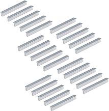 Emuca 9165762 handgrepen voor meubelstuk, CC 64 mm, aluminium, mat geanodiseerd, 25 stuks