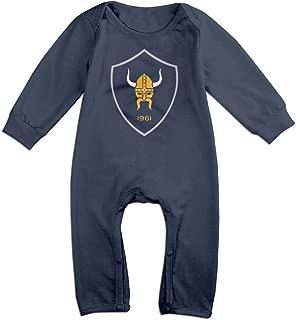 Duola Minnesota Viking for 6-24 Months Infant Best T Shirt Navy