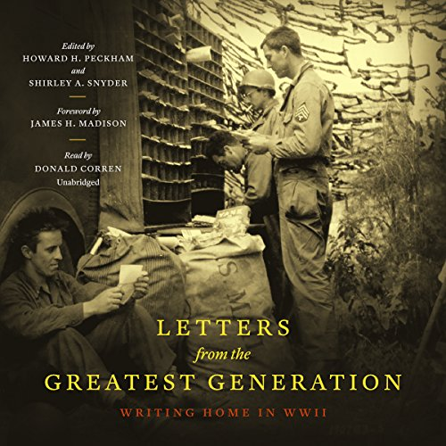 Letters from the Greatest Generation audiobook cover art