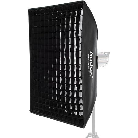 "Godox 24""x 35"" 60x90cm ハニカムグリッドソフトボックスソフトボックスとBowens マウントスタジオストロボフラッシュライト (グリッドソフトボックス60x90cm)"