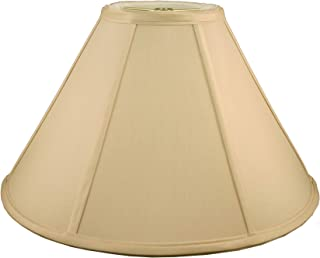 American Pride Lampshade Co. Tailored Lampshade, Soft Shantung, Honey