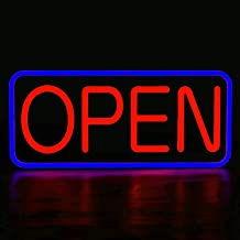 Low price open 4 colors LED sign board new window Shop signs