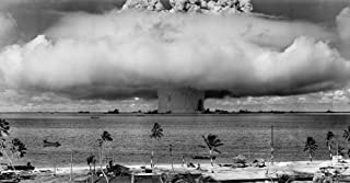 LAMINATED 45x24 Poster: Nuclear Weapons Test Nuclear Weapon Weapons Test Explosion Mushroom Cloud Crossroads Baker Bikini Atoll 1946 Atomic Bomb Hydrogen Bomb