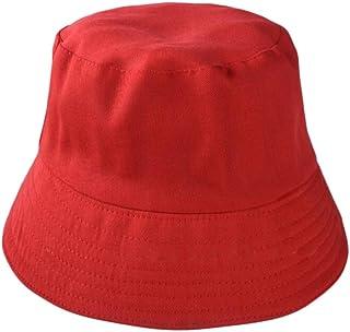 5344894fb00ea Westeng Unisexe Chapeau Bob Pêcheur en Coton Chapeau de Soleil Pliable  Anti-UV Protection pour