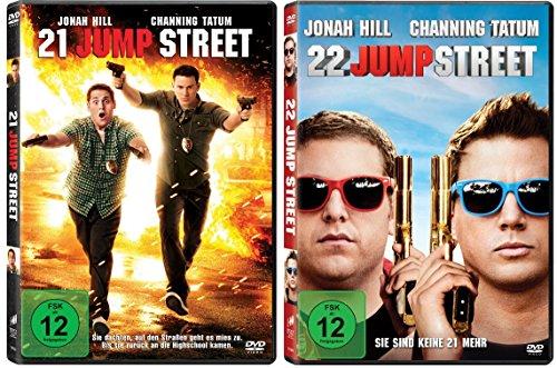 21 Jump Street & 22 Jump Street im Set - Deutsche Originalware [2 DVDs]